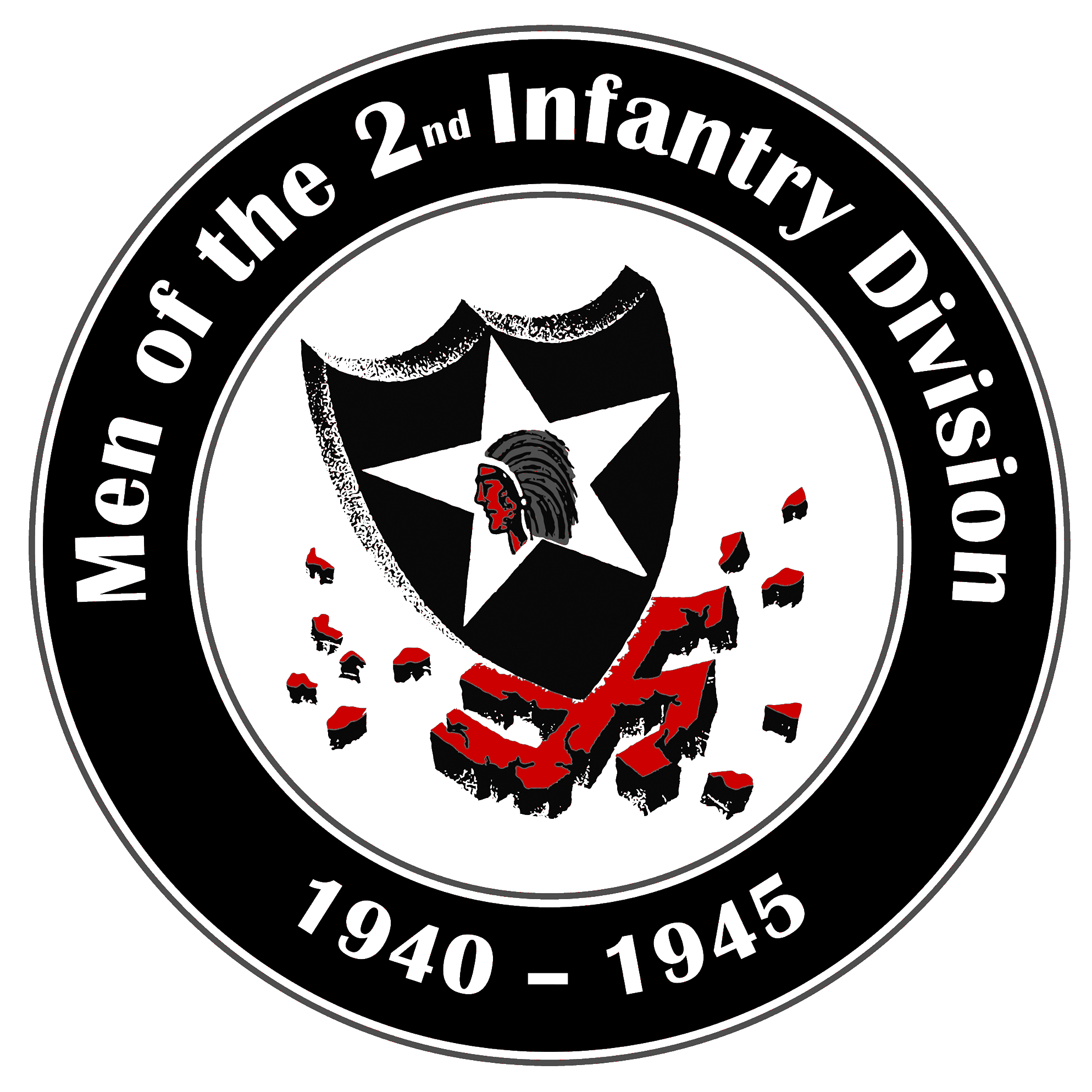 Men of the 2nd Infantry Division